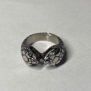 Other - Double head snake ring